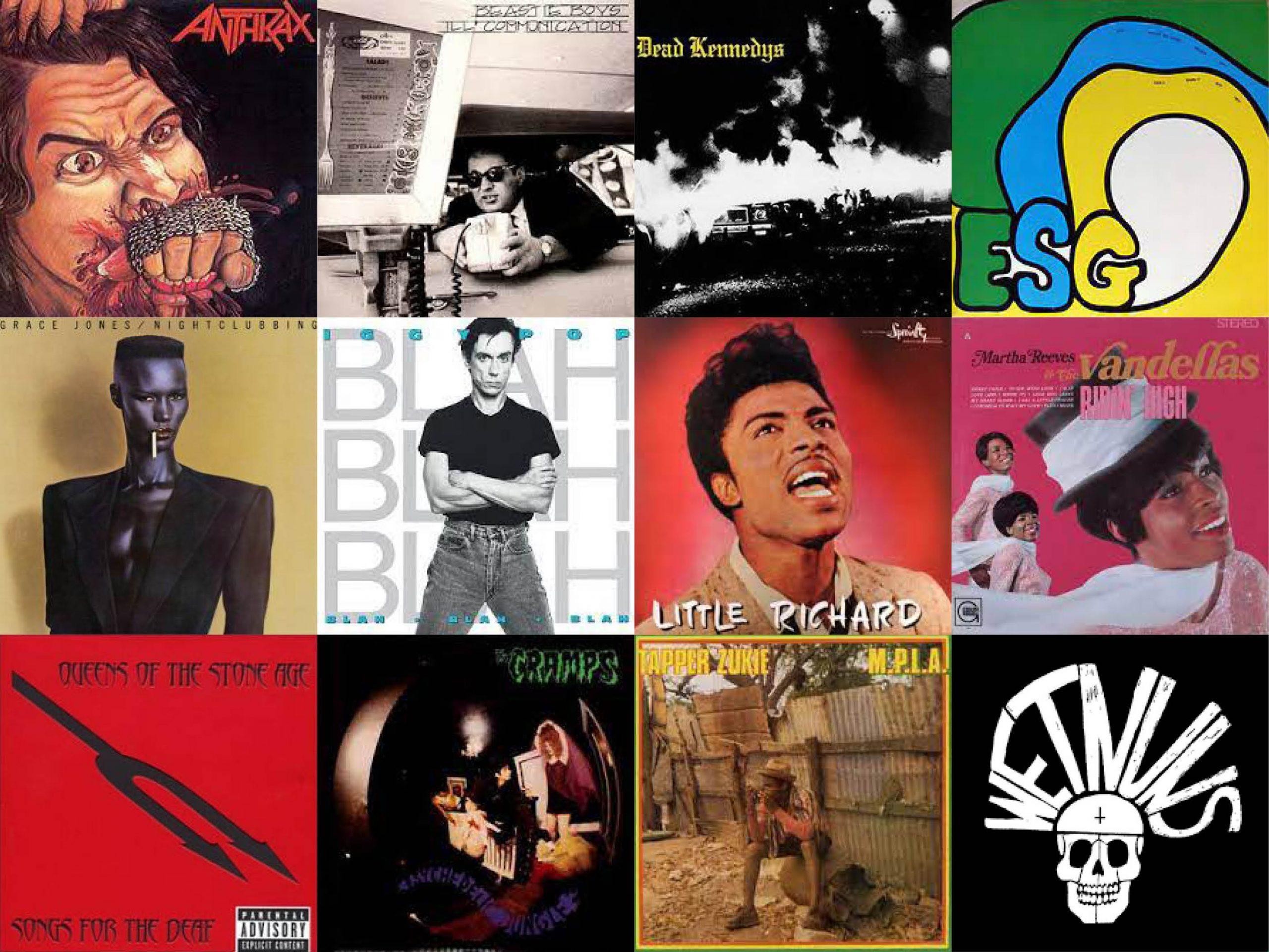 Andrew's albums